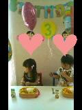 3歳のお誕生会・2